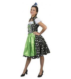 Alpenweide Tirol Edelweiss Vrouw Kostuum