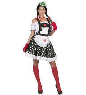 Ischgl Tiroler Edelweiss Vrouw Kostuum