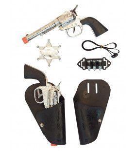 Revolver Set Sheriff 5 Delig