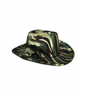 Cowboy Leger Hoed Camouflage