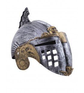 Helm Dol Drieste Ridder Met Vizier