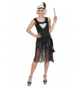 Feest In Crisistijd Charleston Dans Vrouw Kostuum