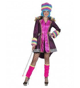 Fantasie Leger Showgirl Jas Vrouw