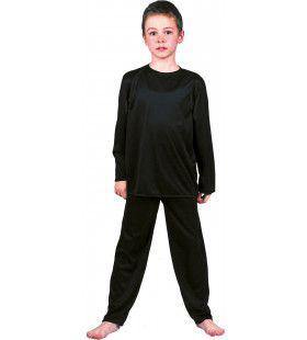 Zwarte Inbreker Dief Van De Nacht Kind Kostuum