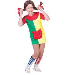 Sterkste Meisje Van De Wereld Pippi Kostuum