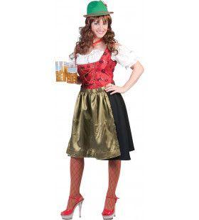 Kitzbuhel Bier Dirndl Vrouw Kostuum