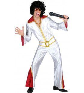 De Koning Van Graceland Elvis Man Kostuum