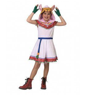 Alpaca Lama Andes Zuid Amerika Meisje Kostuum