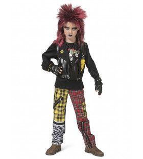 Punk Peter Jongen Kostuum