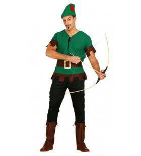 Robin Hood Uit Sherwood Forest Man Kostuum
