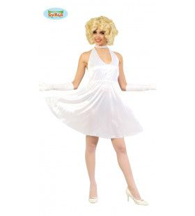 Marilyn Monroe Luchtrooster Vrouw Kostuum