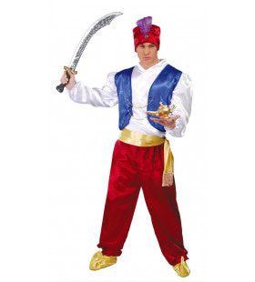 Geest Uit De Wonderlamp Aladdin Man Kostuum