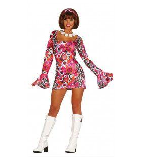 Dol Disco Dans Vrouw Kostuum