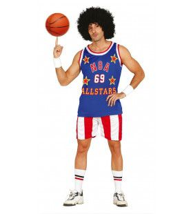 Team Usa Basketball Man Kostuum
