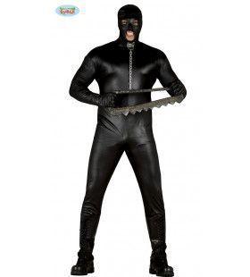 Rubberen Robbie Skinsuit Man Kostuum