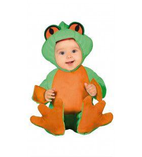 Piepklein Kikkertje Baby Kostuum