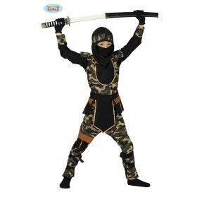 Ninja Breek Je Been Jongen Kostuum