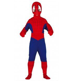 Dappere Kleine Spinnenheld Jongen Kostuum
