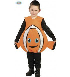 Nemo Clownvis Met Vinnen Kostuum