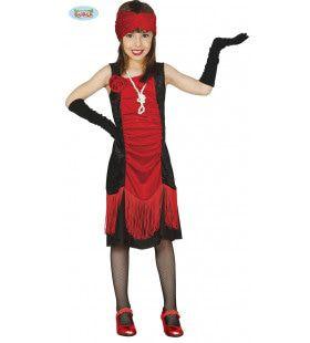 Chicago Charleston Danseres Meisje Kostuum
