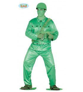 Plastic Soldaat Figuurtje Man Kostuum