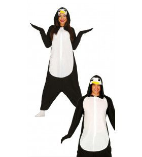 Zuidpool Pinguin Jumpsuit Vrouw Kostuum