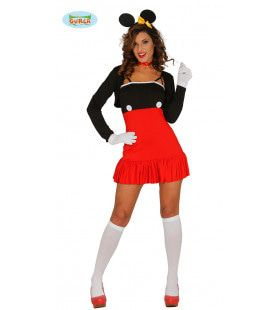 Opvallend Sexy Muis Vrouw Kostuum