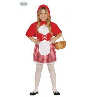 Wat Hebt U Grote Oren Roodkapje Meisje Kostuum