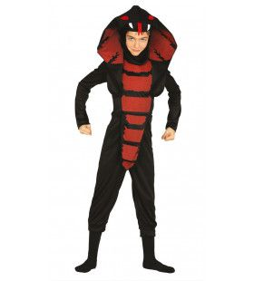 Giftige Cobra Ninja Jongen Kostuum