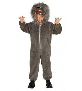 Huilen Als Een Wolf Kostuum