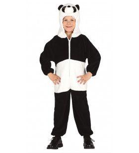 Ying Yang Bamboe Panda Kostuum
