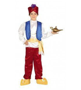Aladdin Woestijn Jongen Kostuum