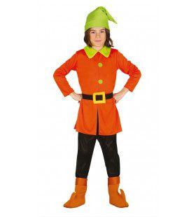 Koninklijk Oranje Dwerg Kostuum