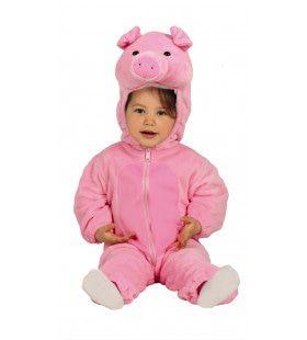 Schattig Roze Biggetje Kostuum