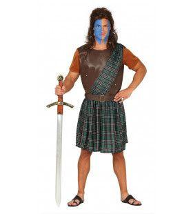 Schotse Strijder Macintosh Man Kostuum