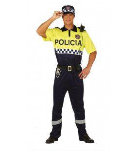 Beste Kameraad Politie Man Kostuum