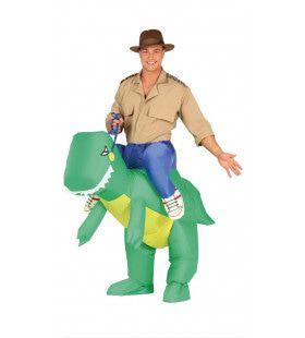 Jurassic Parc Dinosaurus Ritje Kostuum