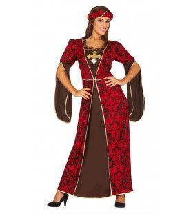 Keurige Hofdame Annabelle Vrouw Kostuum