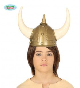 Viking Helm Ossen Hoorns