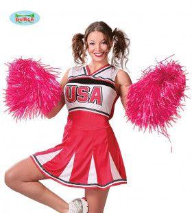 Pompon Cheerleader Roze