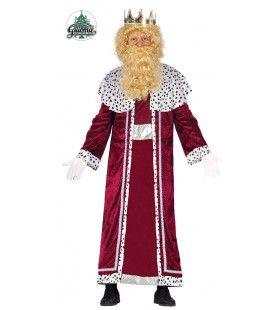 Drie Koningen Rood Fluweel Man Kostuum