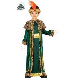 Drie Koningen Groen Jongen Kostuum