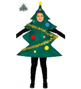 Kerstboom Sandwichbord Kind Kostuum