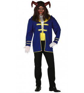 Het Beest Van Het Sprookje Man Kostuum