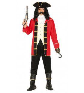 Bermuda Driehoek Piraat Man Kostuum