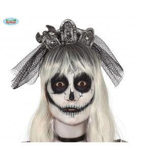 Hoofdband Met Grafzerken En Sluier Halloween
