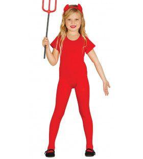 Rode Body Ballerina Dansvoorstelling Meisje Kostuum
