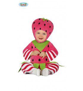 Snoepje Van Een Aardbei Kind Kostuum