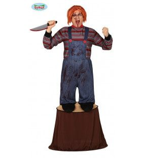 Chucky Op Moordpad Horror Film Man Kostuum