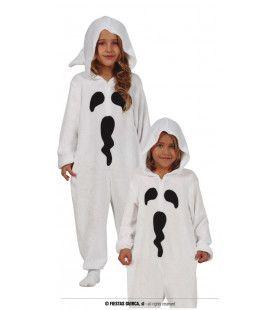 Wit Griezel Spookje Kind Kostuum